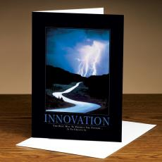 Classic Motivational Cards - Innovation Lightning 25-Pack Greeting Cards