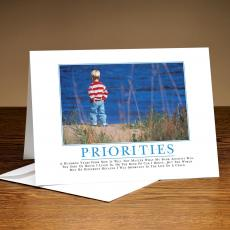 Priorities Boy 25-Pack Greeting Cards