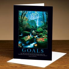 Goals Stream 25-Pack Greeting Cards