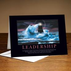 Classic Motivational Cards - Leadership Lighthouse 25-Pack Greeting Cards