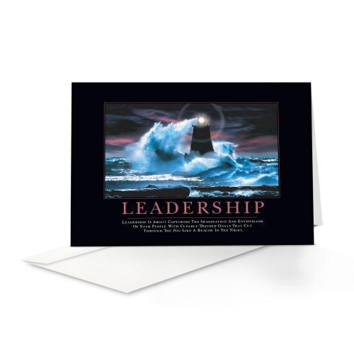 Leadership Lighthouse Greeting Cards