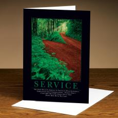 Service Path 25-Pack Greeting Cards