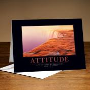 Attitude Watercliff 25-Pack Greeting Cards