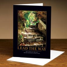 Lead the Way Stone Path 25-Pack Greeting Cards