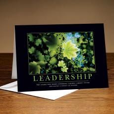 Leadership Leaf 25-Pack Greeting Cards
