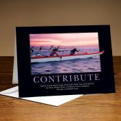 Contribute Paddlers 25-Pack Greeting Cards Classic Motivational (726336)