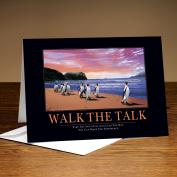 Walk The Talk Penguins 25-Pack Greeting Cards <span>(726337)</span> Classic Motivational (726337) - $37.99
