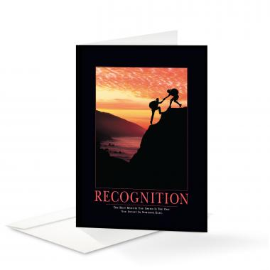Recognition Climbers Greeting Cards