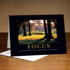 Focus Golf 25-Pack Greeting Cards