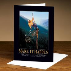 Make It Happen Climbers 25-Pack Greeting Cards