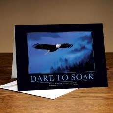 Classic Motivational Cards - Dare to Soar Eagle 25-Pack Greeting Cards