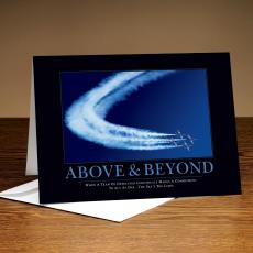 Classic Motivational Cards - Above & Beyond Jets 25-Pack Greeting Cards