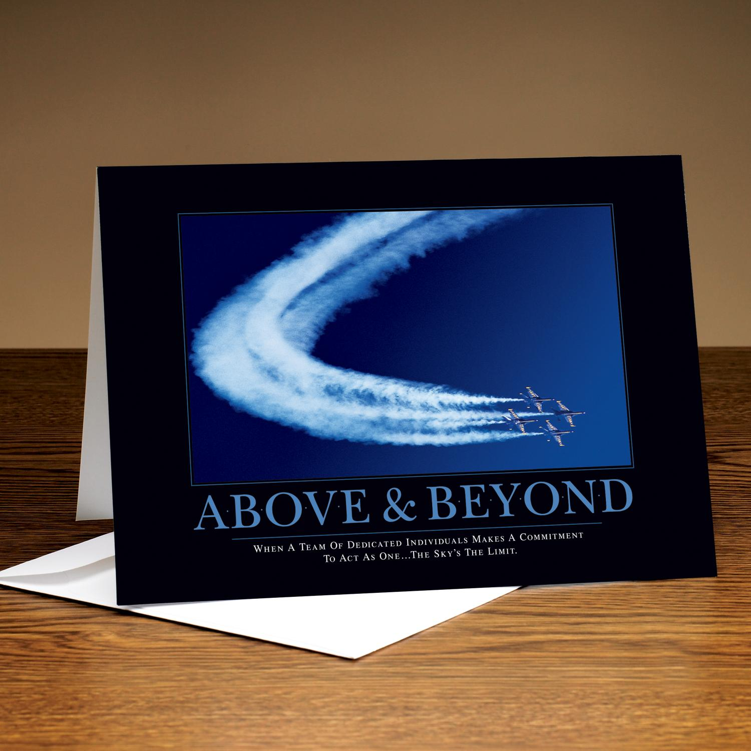 Above & Beyond Jets 25-Pack Greeting Cards
