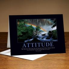Attitude Rainbow 25-Pack Greeting Cards