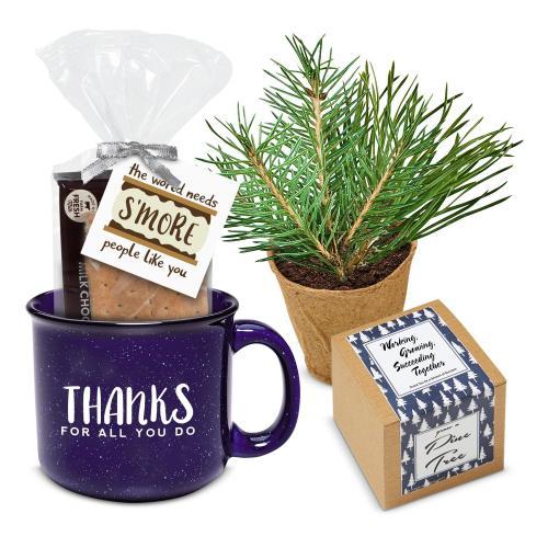 Thanks Gift Box - Cozy Winter Camp Mug Set - Smores