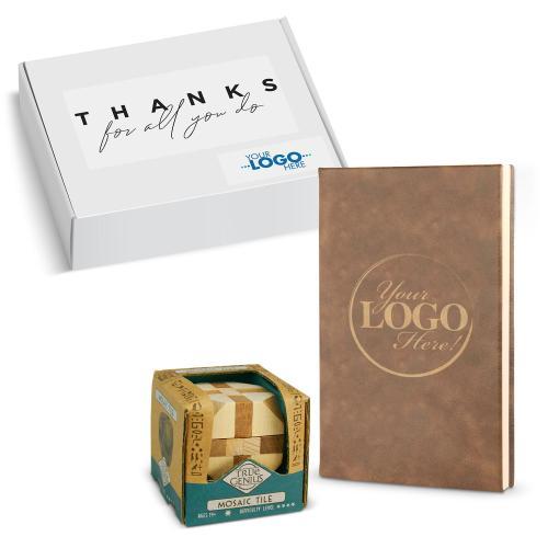 Gift Box - Custom Journal & Game Set
