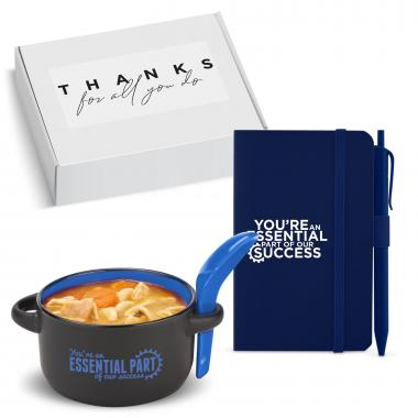 Holiday Gift Box - Essential Part Soup Mug & Journal