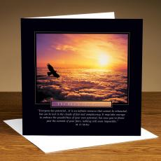 Sky's The Limit 25-Pack Greeting Cards