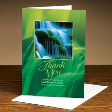 Thank You Waterfall 25-Pack Greeting Cards