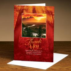 Thank You Cards - Thank You River 25-Pack Greeting Cards
