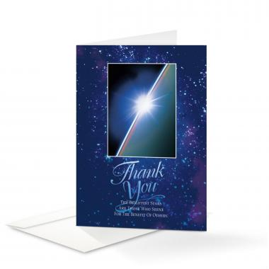 Thank You Rising Star Greeting Cards