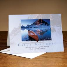 All Greeting Cards - Happy Birthday Canoe 25-Pack Greeting Cards