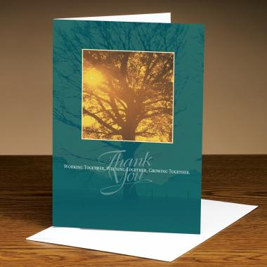 Thank You Tree Greeting Cards