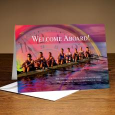 Employee Welcome Cards - Welcome Aboard Rowing 25-Pack Greeting Cards