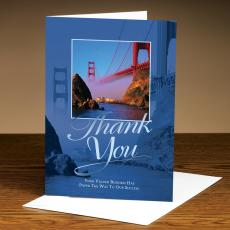 Business Occasion Cards - Thank You Bridge 25 Pack Greeting Cards