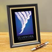 Teamwork Jets Framed Desktop Print