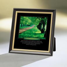 Life is a Journey Framed Desktop Print