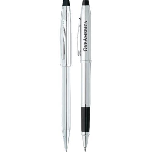Cross® Century II Lustrous Chrome Pen Set