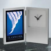 Teamwork Jets Desk Clock