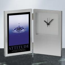 Attitude Drop Desk Clock