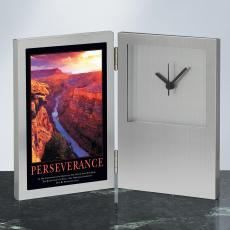 Perseverance Grand Canyon Desk Clock