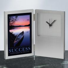 Success Canoe Desk Clock