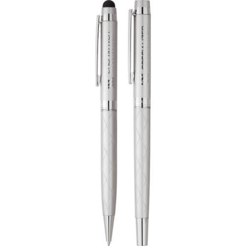 Cutter & Buck® Bainbridge Quilted Pen Set