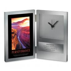 Retirement Gifts - Perseverance Grand Canyon Desk Clock