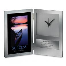 Retirement Gifts - Success Canoe Desk Clock