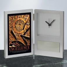 Excellence Wood Carving Clock