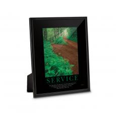 Framed Desktop Prints - Service Path Framed Desktop Print