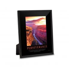 Fun Motivation & Gifts - Perseverance Grand Canyon Framed Desktop Print