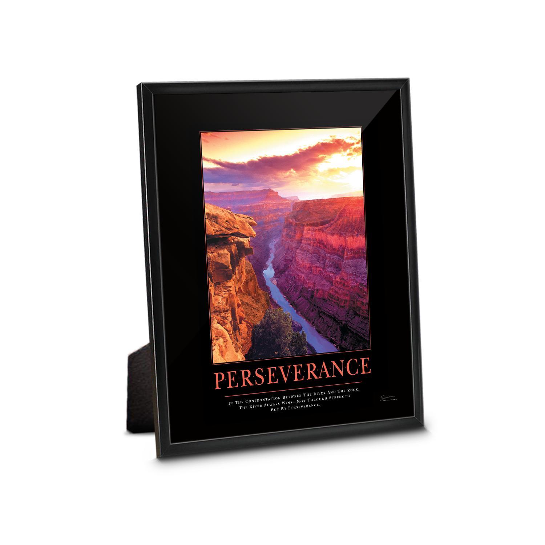 Perseverance Grand Canyon Framed Desktop Print | Corporate Impressions