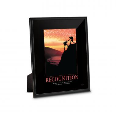 Recognition Climbers Framed Desktop Print