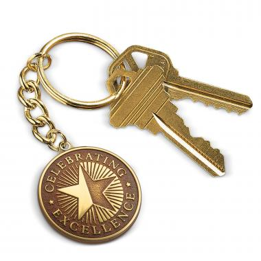 Celebrating Excellence Medallion Key Chain