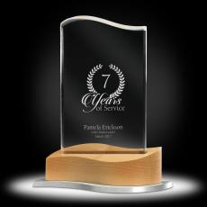 Acrylic Awards - On the Mark Acrylic Award