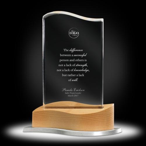 On the Mark Acrylic Award