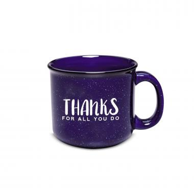 Working With You is a Gift 15oz Camp Mug