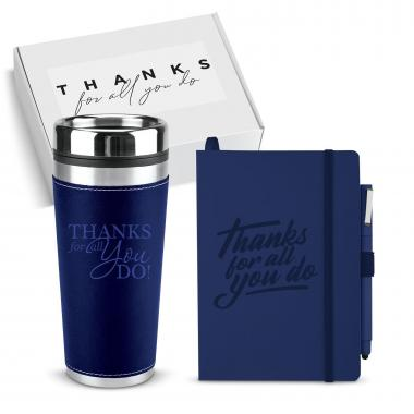 Thanks Gift Box - Journal & Tumbler Gift Set