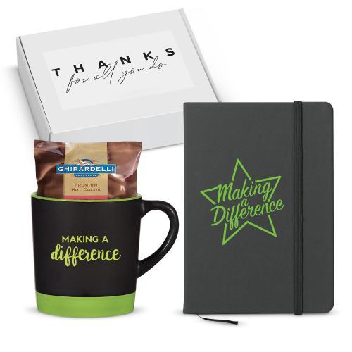 Making a Difference Matte Mug Gift Box